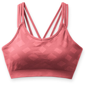 Smartwool Seamless Strappy Sport Bra Women, tea rose